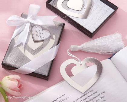 ของชำร่วย แต่งงาน ที่คั่นหนังสือ หัวใจ
